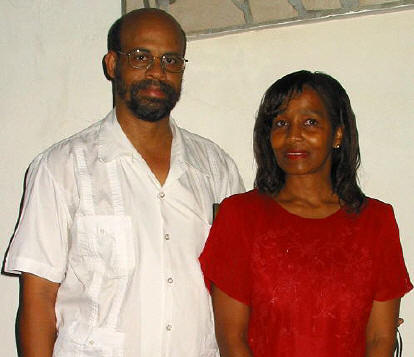 Walter and Linda Robinson II (Photo taken in July of 2005)